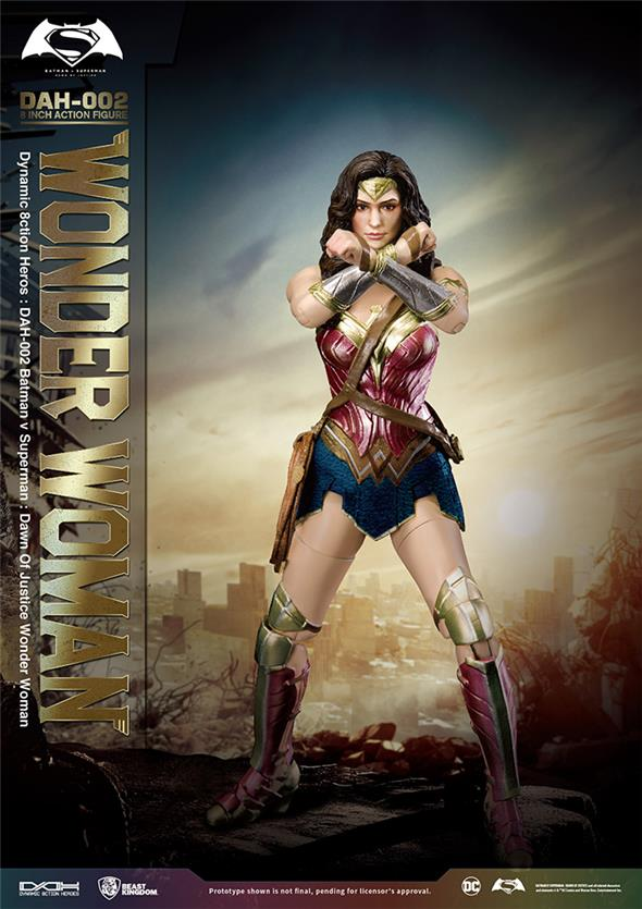 BATMAN V SUPERMAN - WONDER WOMAN DAH