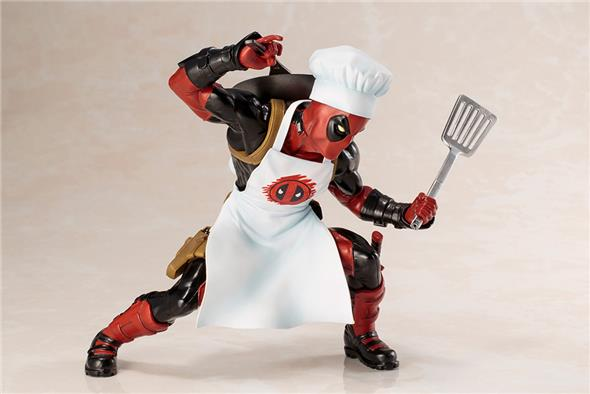 COOKING DEADPOOL ARTFX+ STATUE