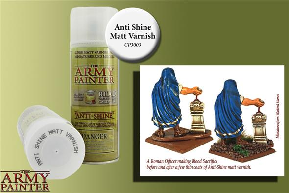 VARNISH ANTI SHINE MATT CP3003
