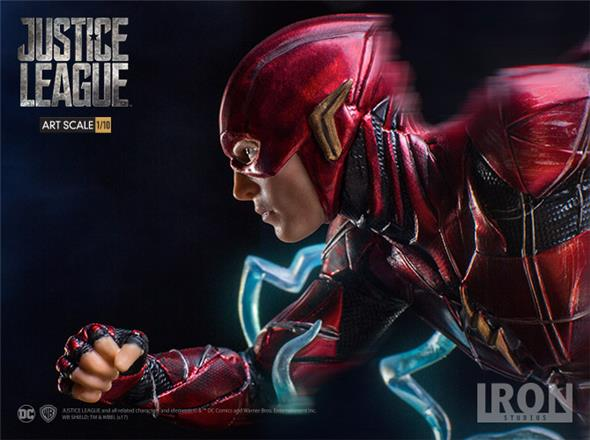 1/10 JUSTICE LEAGUE - THE FLASH ART STATUE