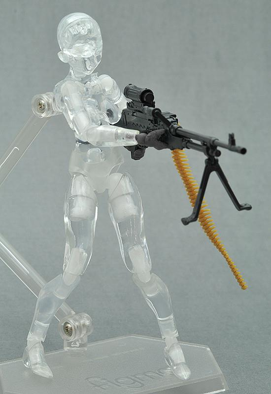 FIGMA  - LITTLEARMORY-OP3: TACTICAL GLOVERS (STEALTH BLACK) 4TH RE-RUN