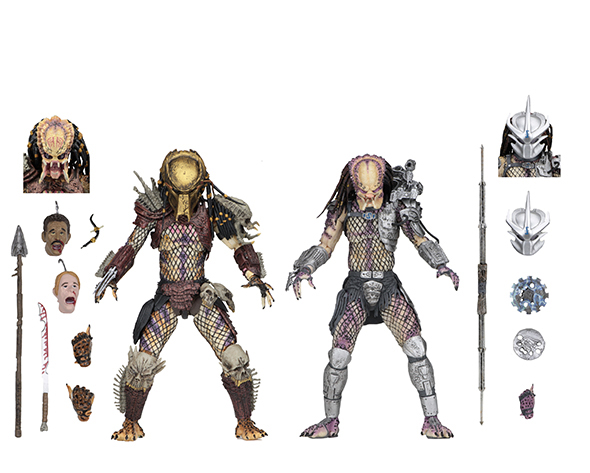 NECA - PREDATOR ULTIMATE BAD BLOOD & ULTIMATE ENFORCER 2PK