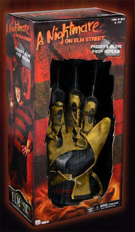 NECA - NIGHTMARE FREDDY GLOVE REPLICA (1984)