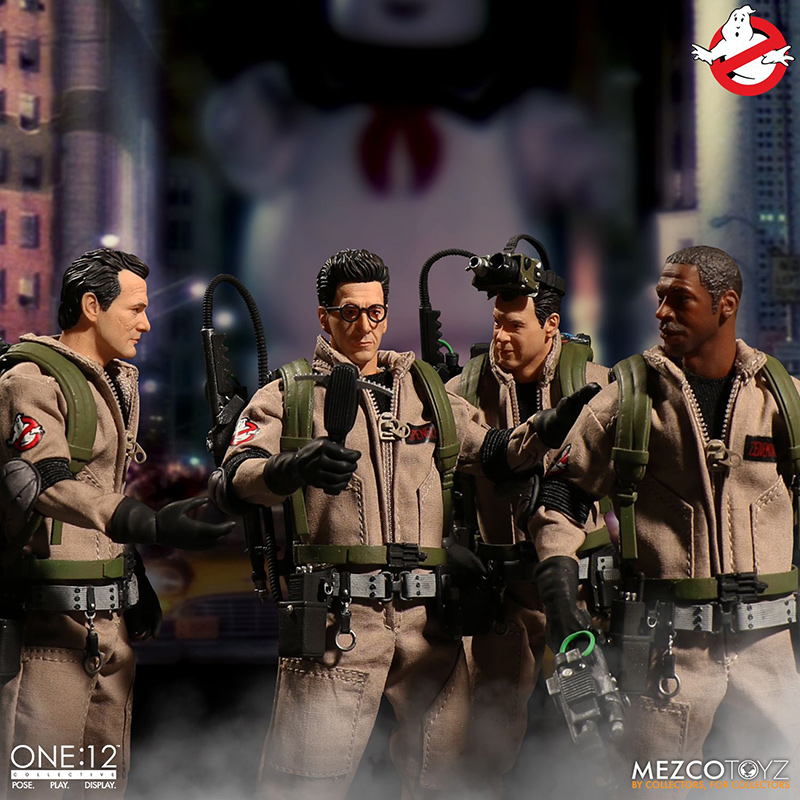 ONE12 COLLECTIVE - GHOSTBUSTERS CLOTH DELUXE BOX SET