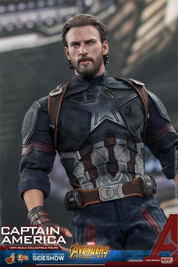 1/6 HOT TOYS - AVENGERS INFINITY WAR - CAPTAIN AMERICA