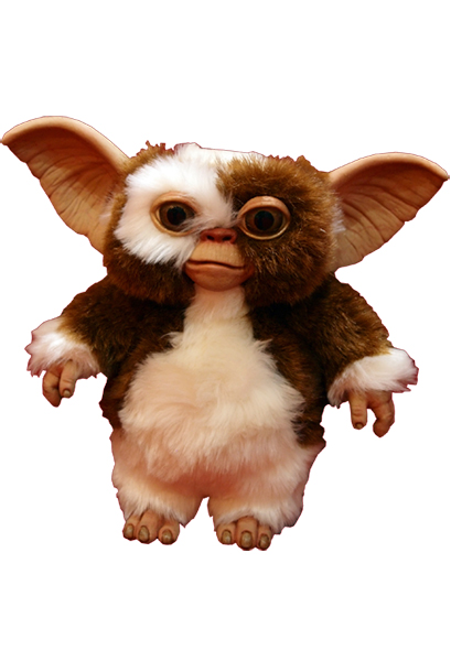 GREMLINS GIZMO HAND PUPPET PROP