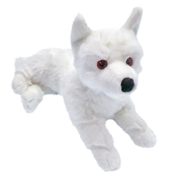 GOT - GHOST DIREWOLF PRONE CUB PLUSH L