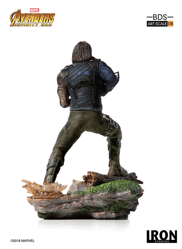 1/10 IRON STUDIOS - AVENGERS I. W. WINTER SOLDIER ART STATUE