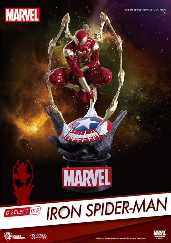 D-SELECT - IRON SPIDER FIG