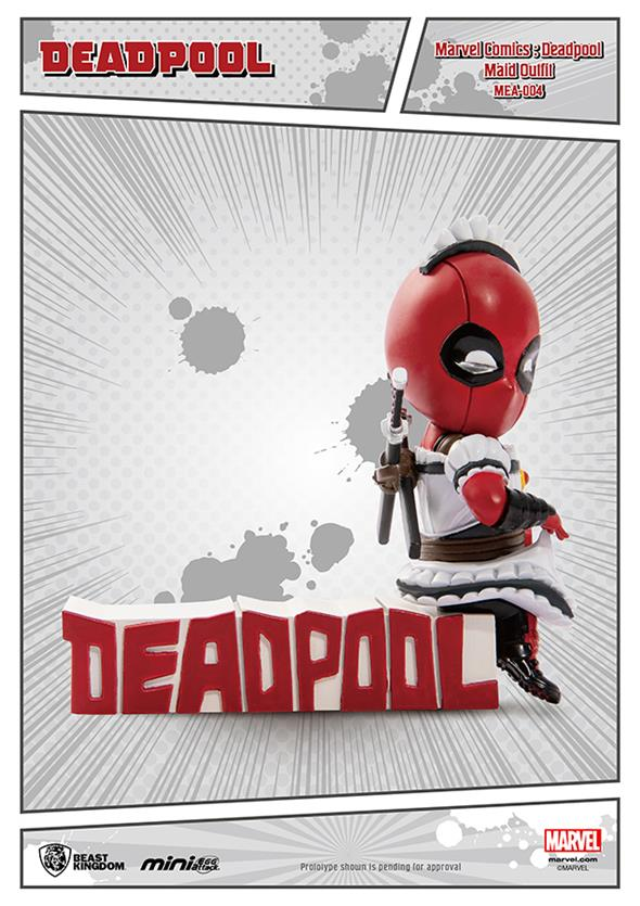 DEADPOOL MAID OUTFIT MINI EGG FIGURE