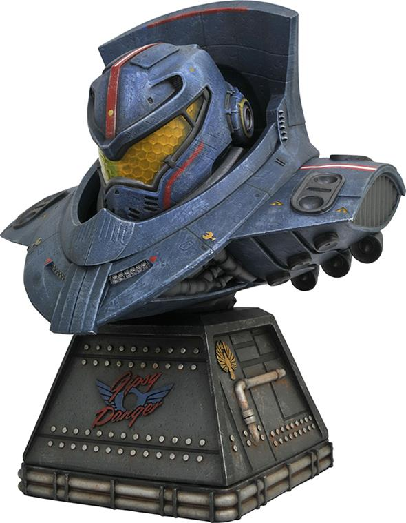 LEGENDARY SCALE LINE - FILM PACIFIC RIM GYPSY DANGER BUST