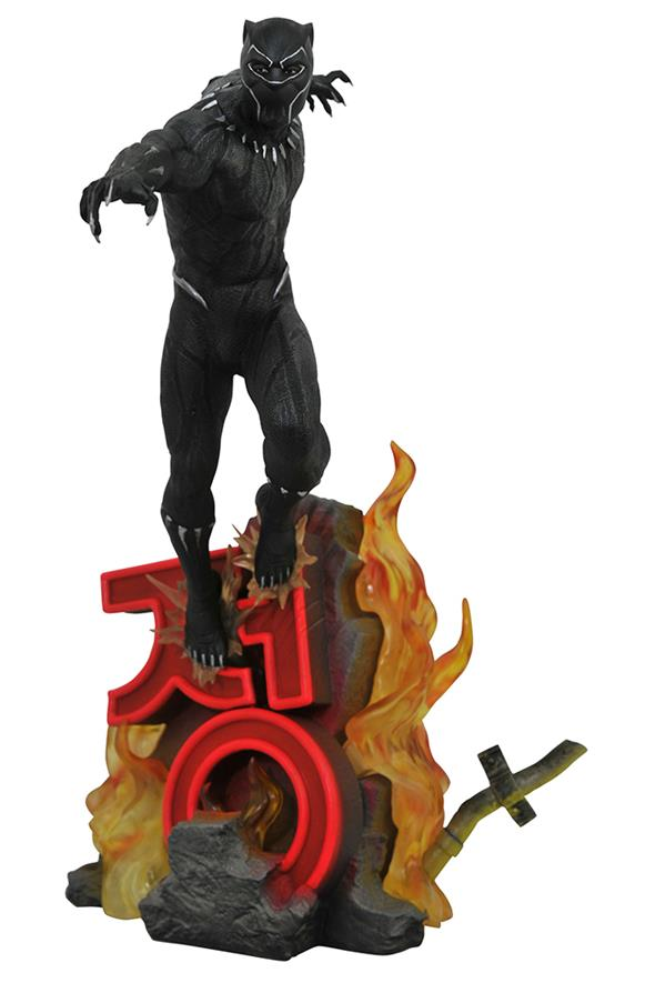 MARVEL PREMIER - BLACK PANTHER MOVIE STATUE