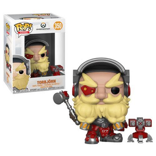 POP ANIMATION - OVERWATCH S4 TORBJON 350