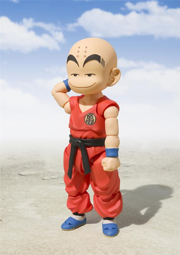 S.H. FIGUARTS - DRAGON BALL KRILLIN EARLY YEARS