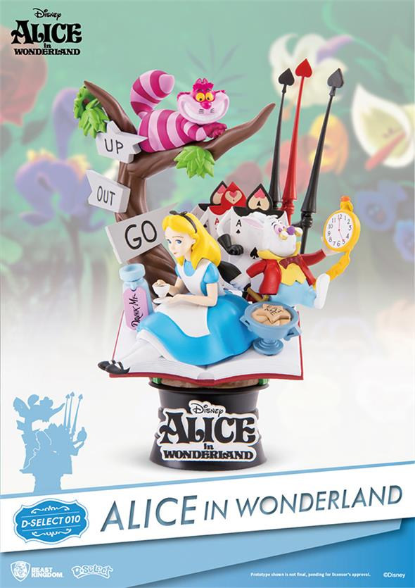 D-SELECT - ALICE IN WONDERLAND DIORAMA