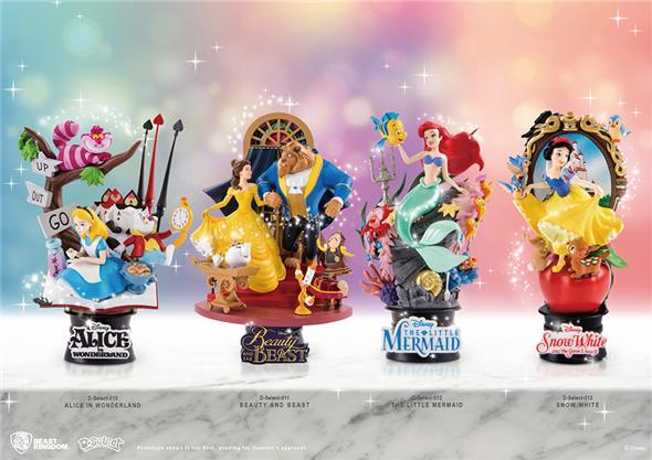 D-SELECT - BEAUTY AND THE BEAST DIORAMA