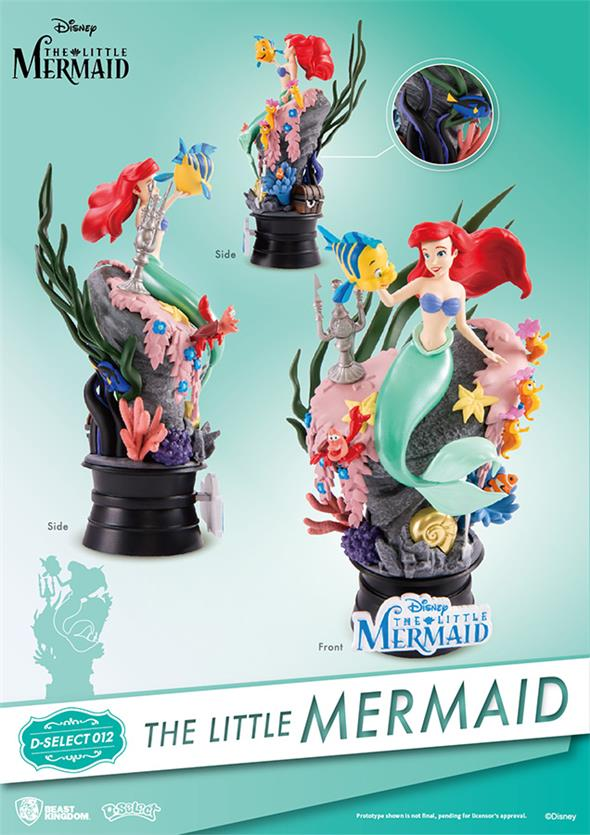 D-SELECT - LITTLE MERMAID DIORAMA