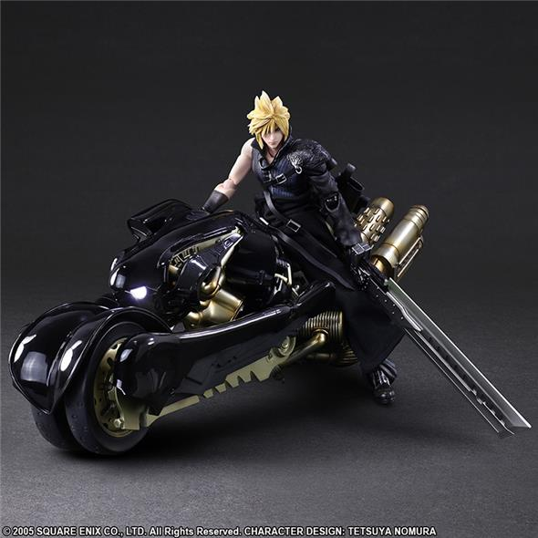 FF7 ADV CHILDREN CLOUD AND FENRIR P.A.K