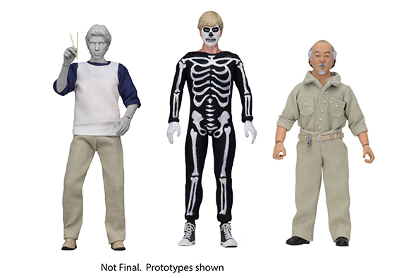 NECA - KARATE KID 1984 CLOTHED AF SET (3)