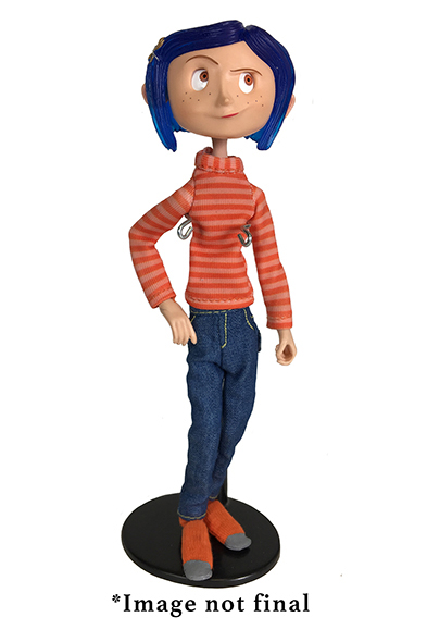 NECA - CORALINE IN STRIPED SHIRT AND JEANS FIGURE