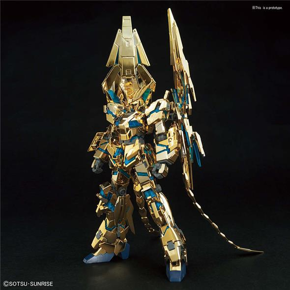 1/144 HGUC GUNDAM PHENEX DESTR NAR GOLD