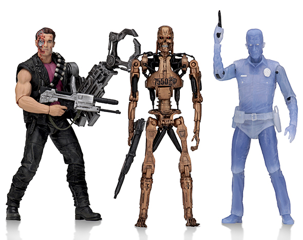 NECA - TERMINATOR 2 KENNER TRIBUTE SET (3)
