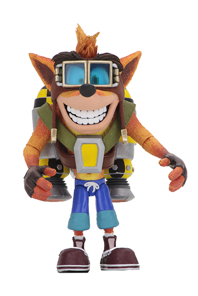 NECA - CRASH BANDICOOT CRASH WITH THE JET PACK DXL
