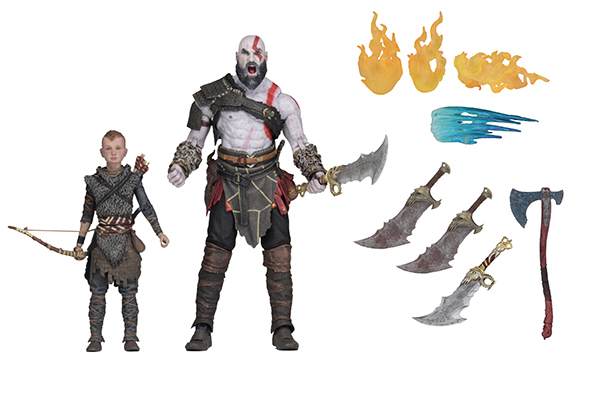 NECA - GOD OF WAR 2018 ULTIMATE KRATOS & ATREUS 2PK