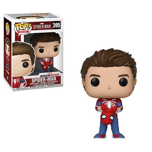 POP GAMES - MARVEL SPIDER-MAN UNMASKED SPIDER-MAN 395