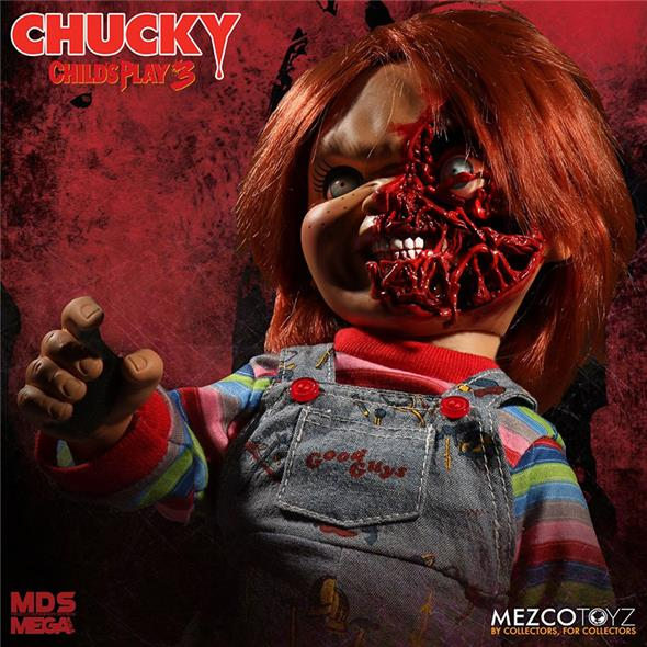 CHILD PLAY 3 PIZZA FACE CHUCKY TALKING