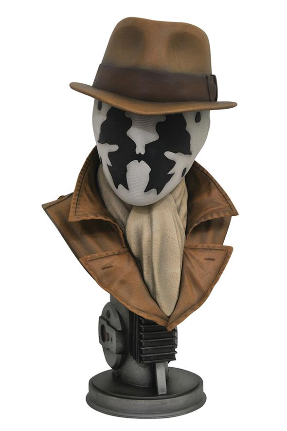 LEGENDARY FILM WATCHMEN RORSCHACH BUST