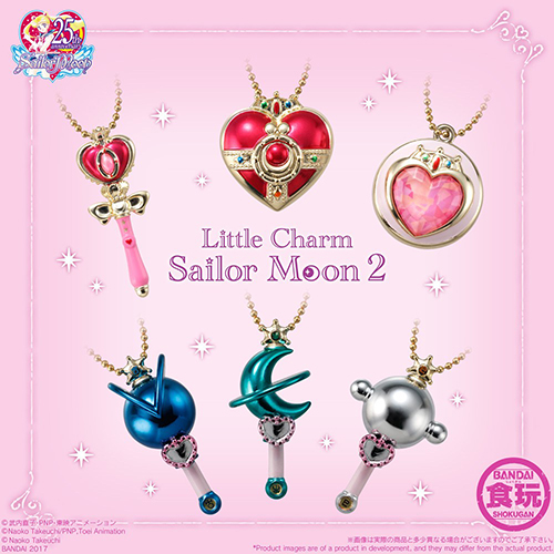 SAILOR MOON LITTLE CHARM VOL.2 (BOX10)