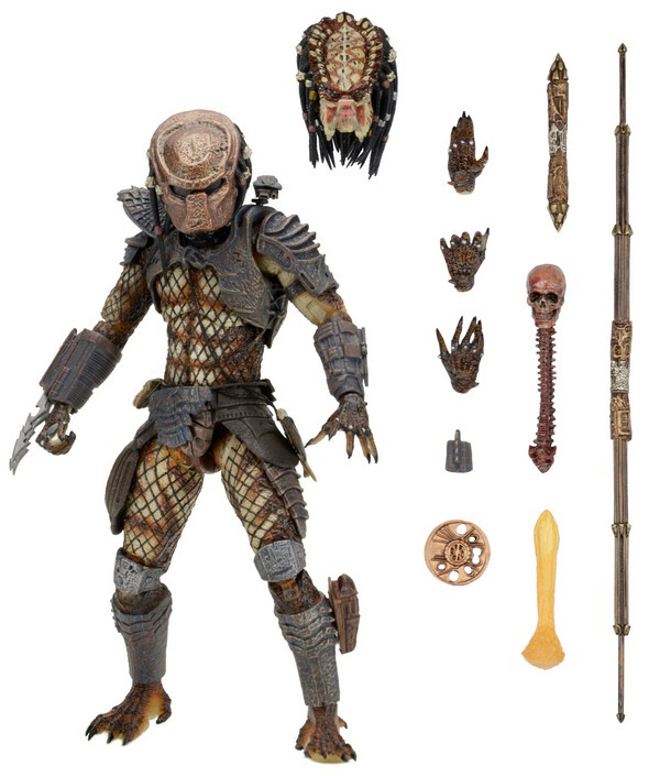 NECA - PREDATOR 2 ULTIMATE CITY HUNTER RISTAMPA 2019