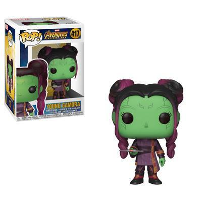 POP MARVEL - INFINITY WAR S2 YOUNG GAMORA WITH DAGGER 417