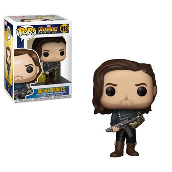 POP MARVEL - INFINITY WAR S2 BUCKY WITH WEAPON 418