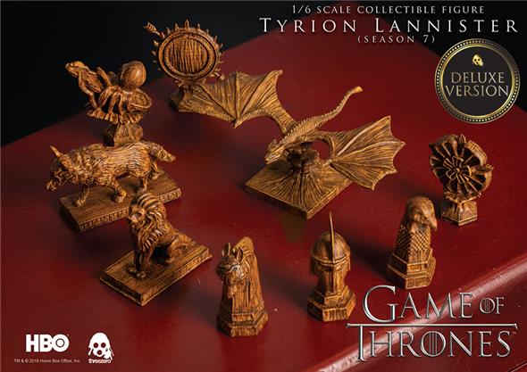 1/6 THREEZERO - GAME OF THRONES TYRION LANNISTER DLX