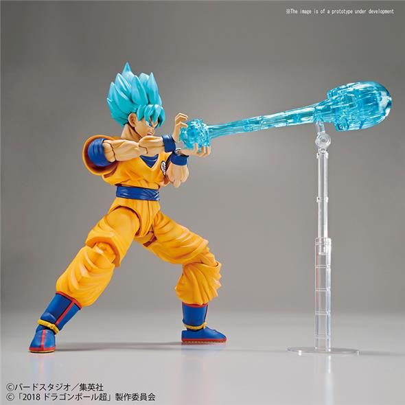 DRAGON BALL FIGURE RISE - SON GOKU SS GOD SPECIAL COLOR