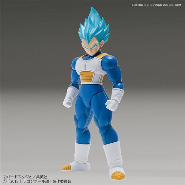 DRAGON BALL FIGURE RISE - VEGETA SS GOD SPECIAL COLOR