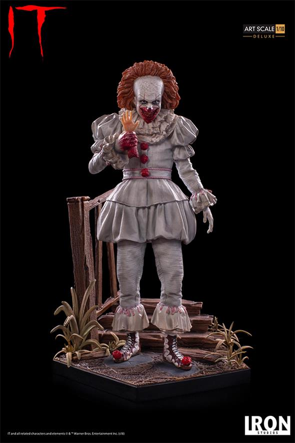 1/10 IT PENNYWISE DLX ART STATUE