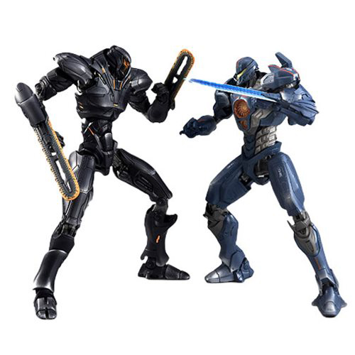 ROBOT SPIRITS - PACIFIC RIM UPRISING SIBERIA BATTLE SET