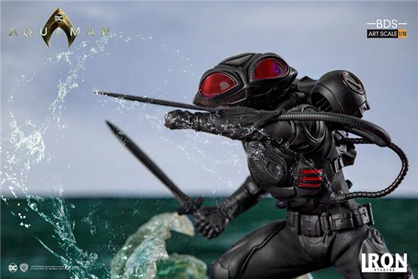 1/10 AQUAMAN BLACK MANTA ART STATUE