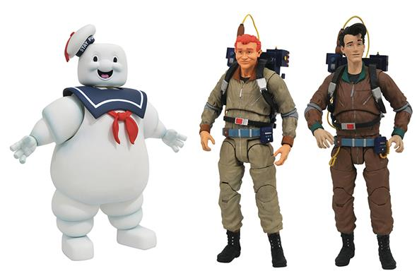 DIAMOND SELECT - GHOSTBUSTERS SERIES 10 SET 3PZ