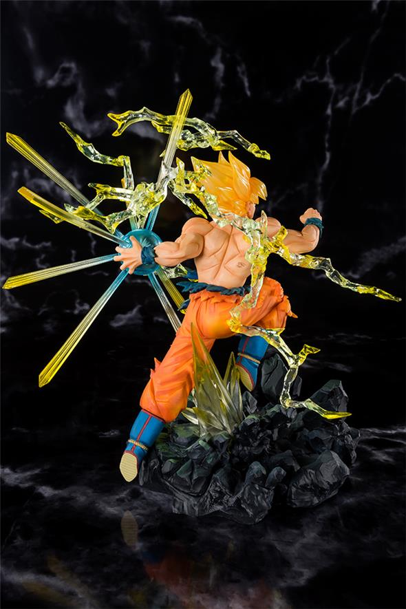 FIGUARTS ZERO - DRAGON BALL Z SS SON GOKOU BURNING BATTLE