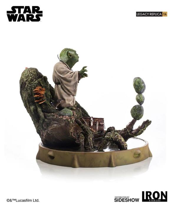 STAR WARS: EPISODE V - YODA 1:4 SCALE STATUE