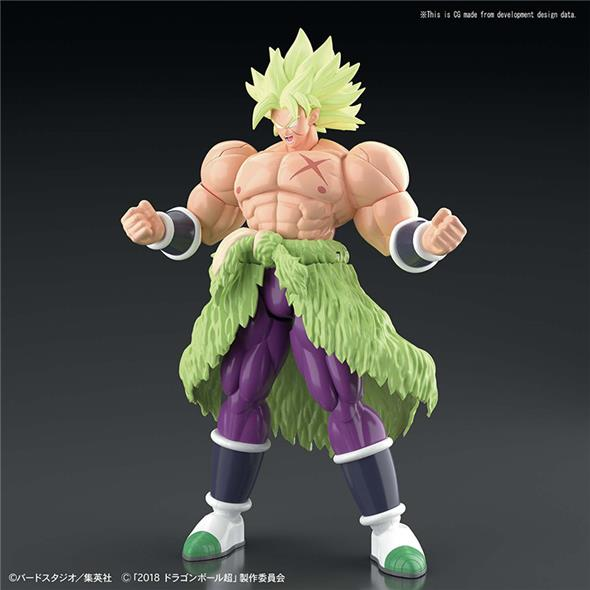 DRAGON BALL FIGURE RISE - SUPER SAIYAN BROLY FULLPOW