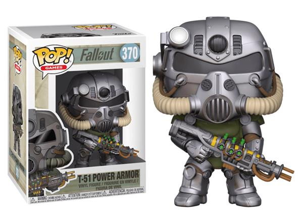 POP GAMES - FALLOUT T-51 POWER ARMOR 370