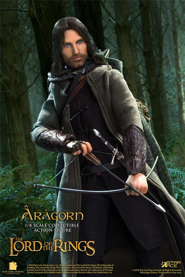 1/8 STAR ACE - THE LORD OF THE RINGS ARAGORN DLX VERSION