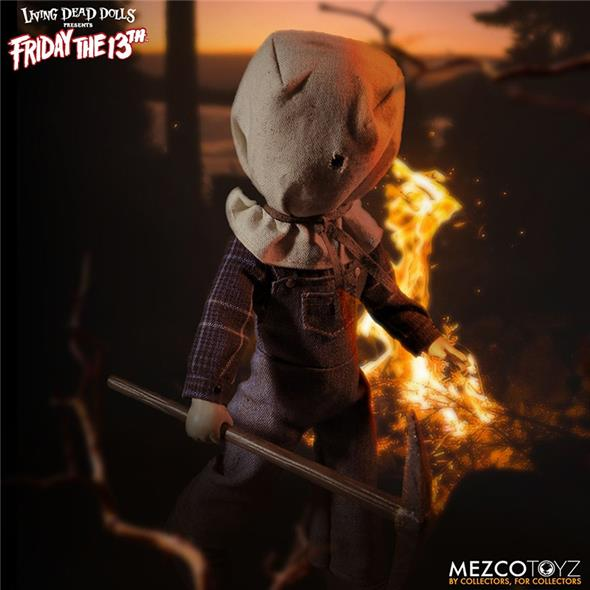 LIVING DEAD DOLL - FRIDAY THE 13TH P.II JASON VOORHEES
