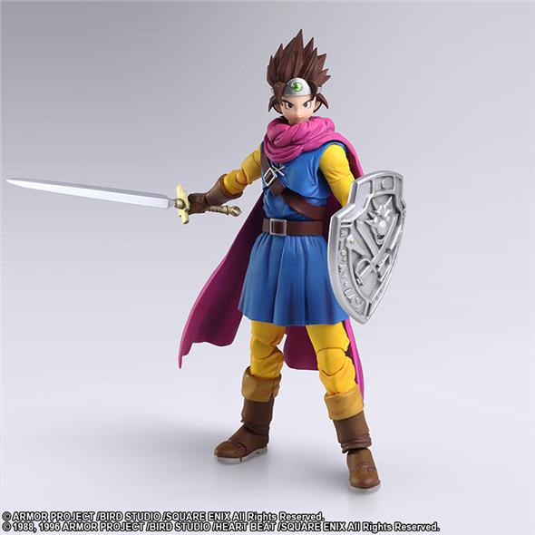DRAGON QUEST III SEEDS BRING ARTS HERO