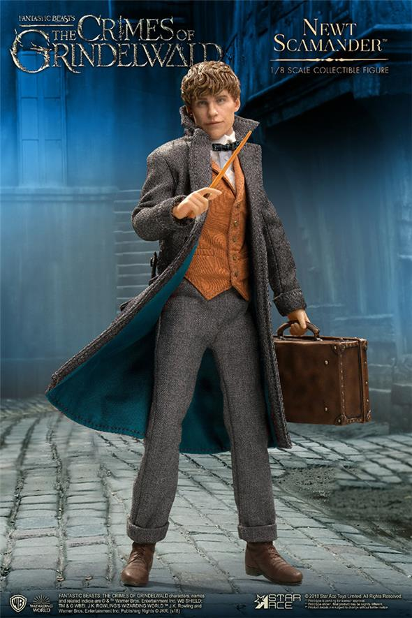 1/8 STAR ACE - FANTASTIC BEASTS THE CRIMES OF GRINDELWALD NEWT SCAMANDER